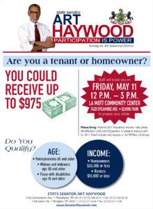 Property Tax/Rent Rebate Event