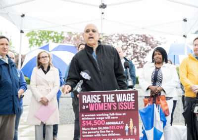 Raise the Wage rally Norristown PA