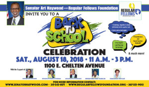 Back to School Celebration 2018