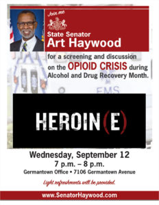 Screening and Discussion on the Opioid Crisis
