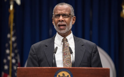 Sen. Haywood Aside Fellow Legislators Addressed Lead in Pennsylvania Schools at State Capitol News Conference