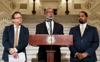 Sen. Haywood Addresses Poverty in Philadelphia at News Conference