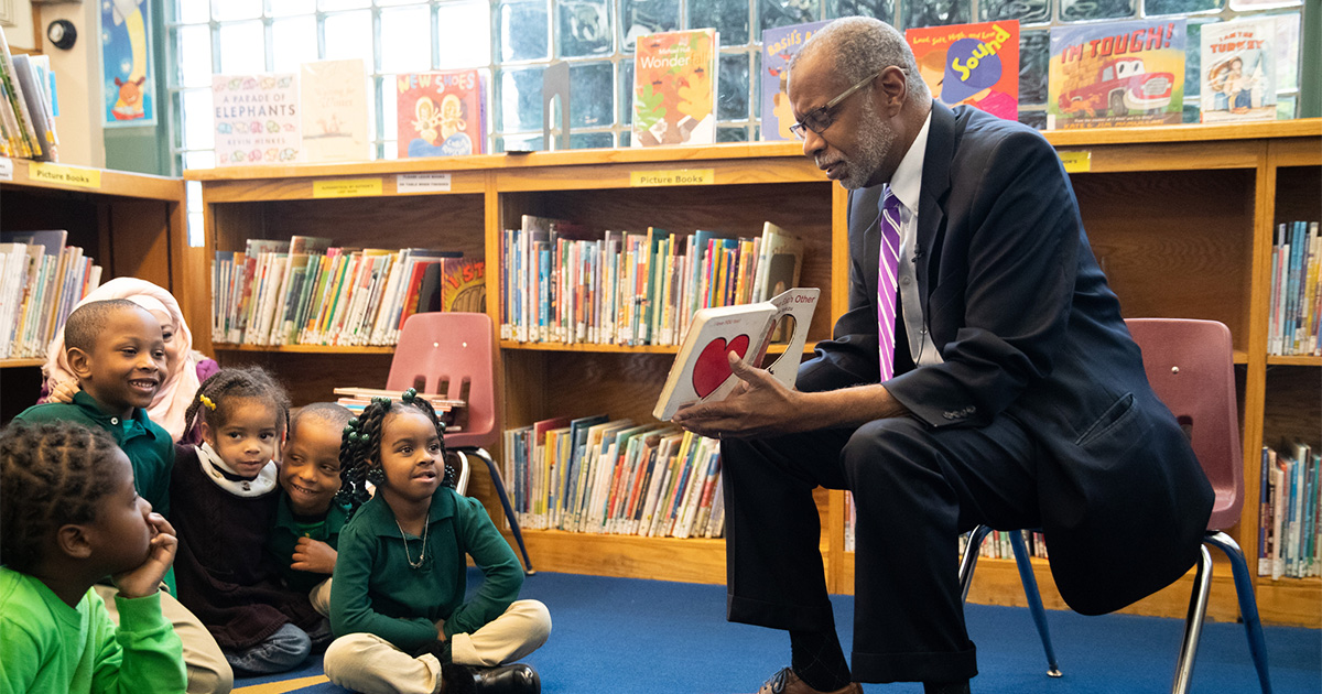 Sen. Haywood Presents Free Library of Philadelphia with $1 Million State Grant
