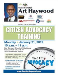 Citizen Advocacy Training