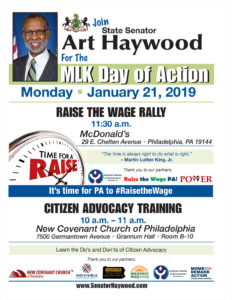Raise the Wage Rally - January 2019