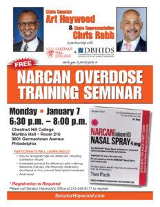 Narcam Overdose Training Session