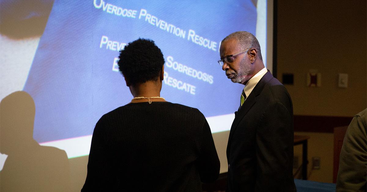 Sen. Haywood & Rep. Rabb Host Narcan Overdose Training Seminar
