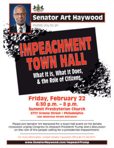 Impeachment Town Hall
