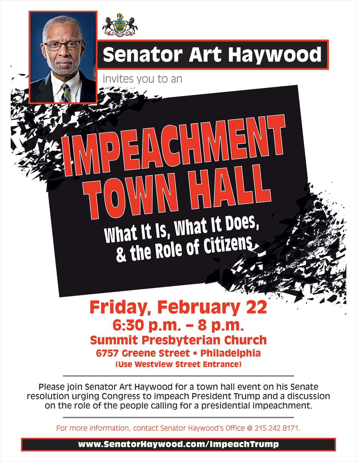 Impeachment Town Hall