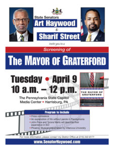 The Mayor of Graterford Screening