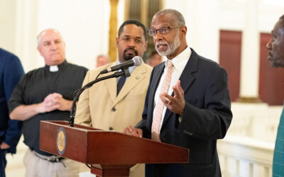 Senator Haywood, Members of The General Assembly, & Statewide Advocates Hosted News Conference Defending General Assistance