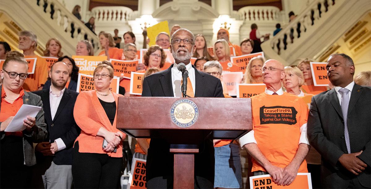 Senator Haywood Issues Gun Violence Prevention Grants Statement