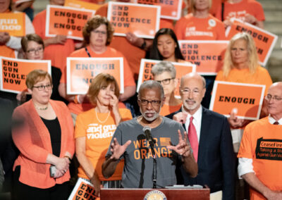 June 24, 2019 − Members of the Pennsylvania Senate Democratic Caucus today jointly sent a letter to Governor Tom Wolf requesting a disaster declaration for gun violence in the Commonwealth.