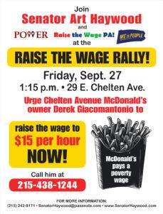 Rasie the Wage Rally - September 27