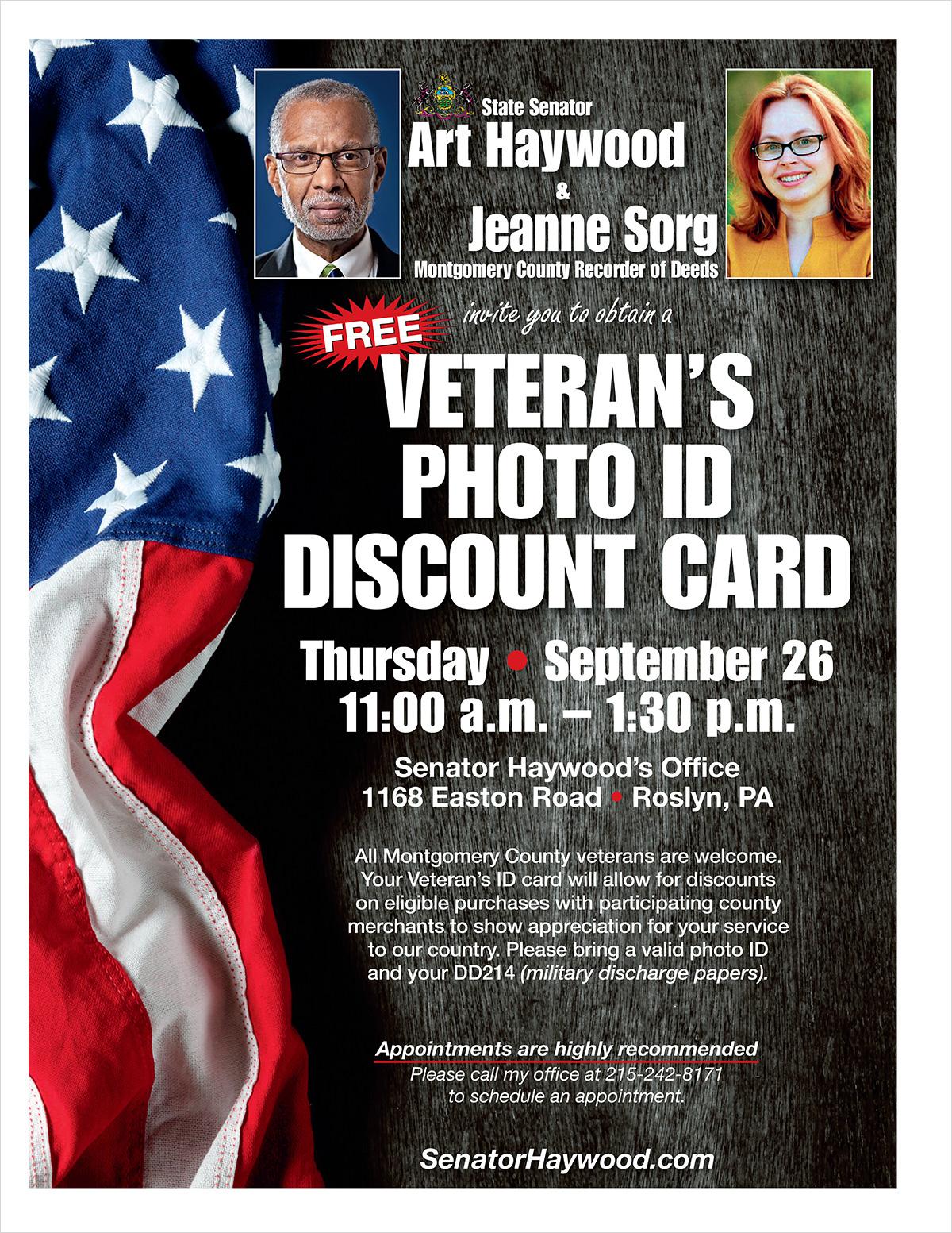 Veteran's ID Card