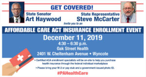 Affordable Care Act Health Insurance Event 2019
