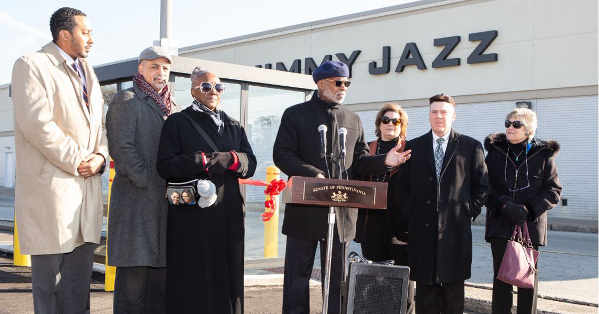 Senator Haywood and Fellow Elected Officials Hosted Ribbon Cutting for the Cedarbrook Plaza Bus Shelter