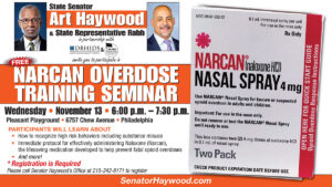 Narcan Overdose Training Seminar - November 13