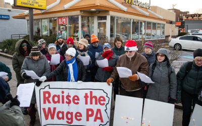 Senator Haywood And Power Caroled to McRaise the Wage to Advocate for Minimum Wage Increase for Local Workers
