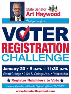Voter Registration Challenge Event
