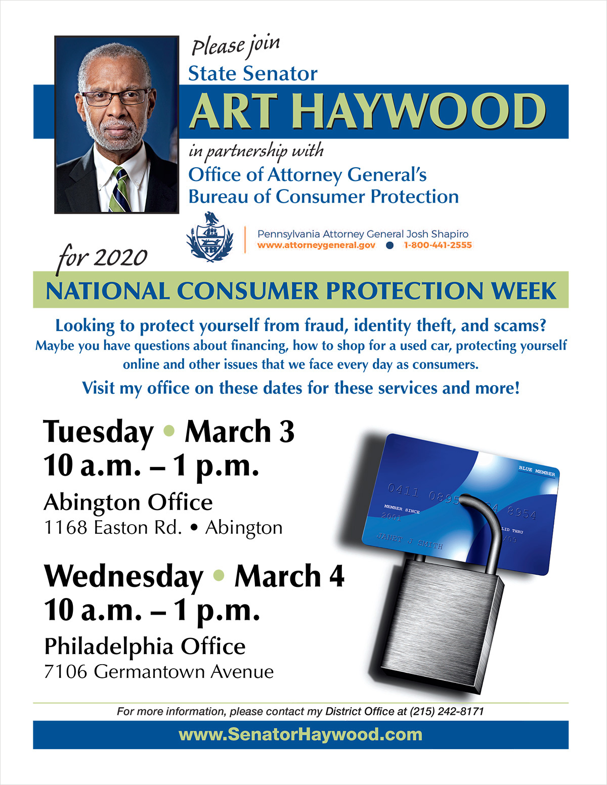 Consumer Protection Open House