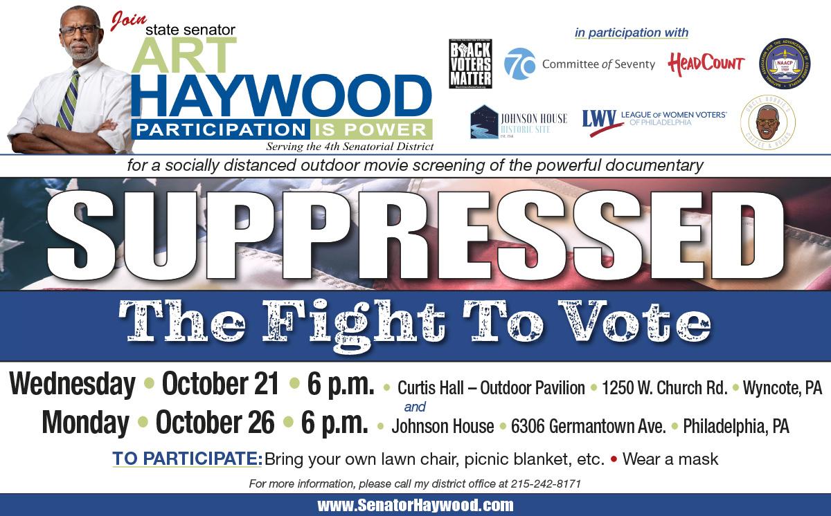 2020 Suppressed: Fight to Vote