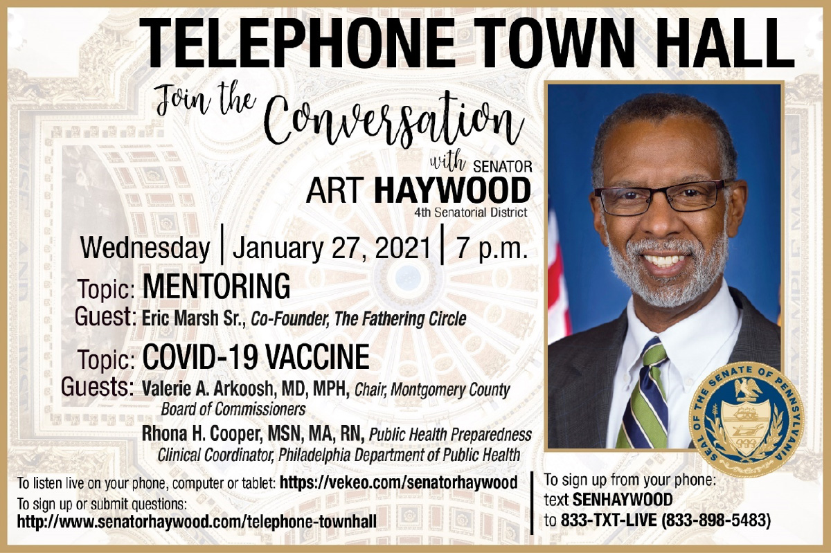 Telephone Town Hall - Mentoring and COVID-19