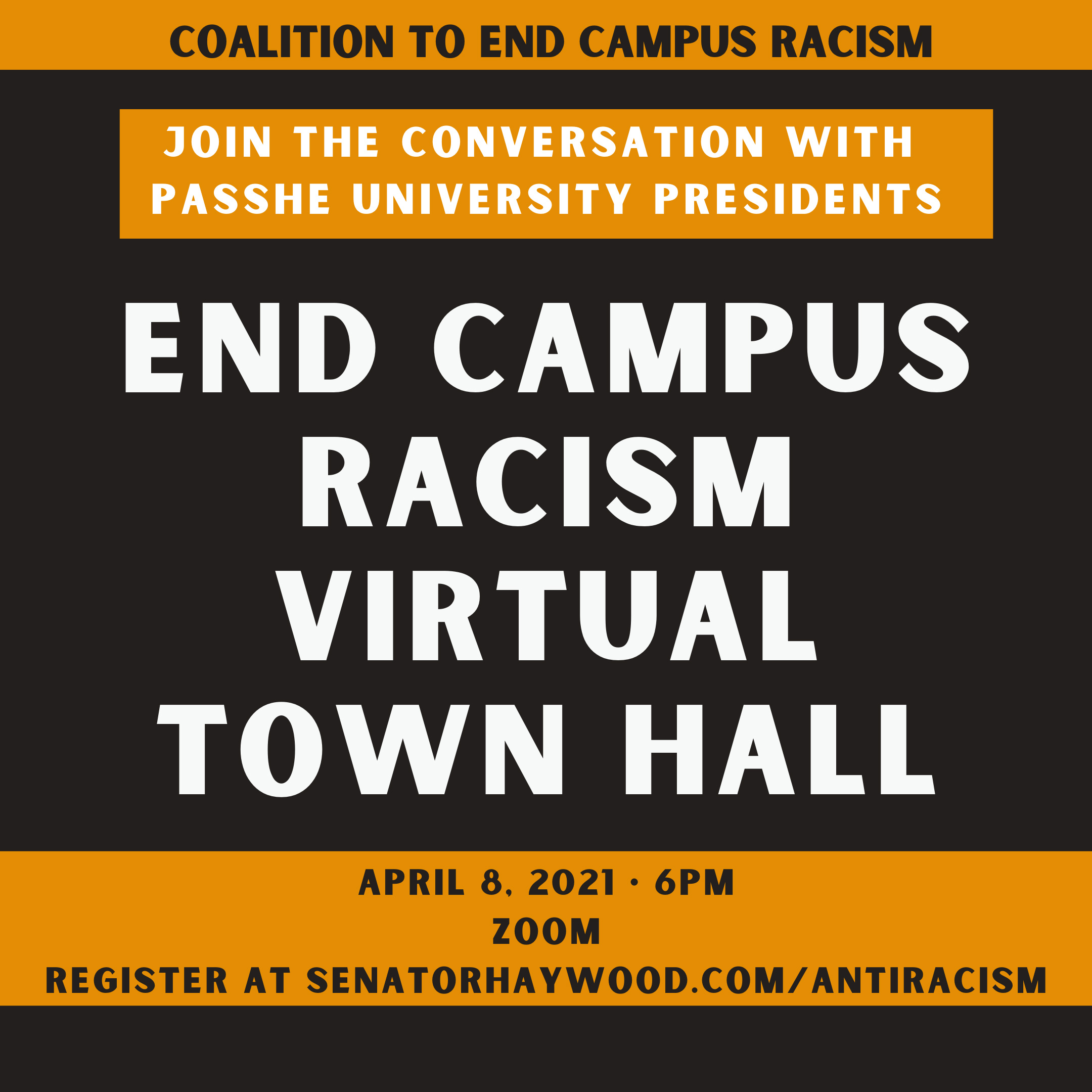End Campus Racism Virtual Town Hall