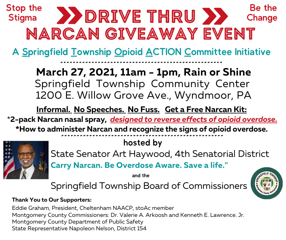 Drive Thru Narcan Giveaway Event