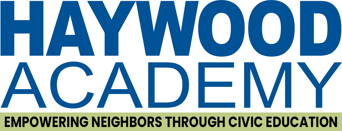 Haywood Academy - mpowering Neighbors through Civic Education