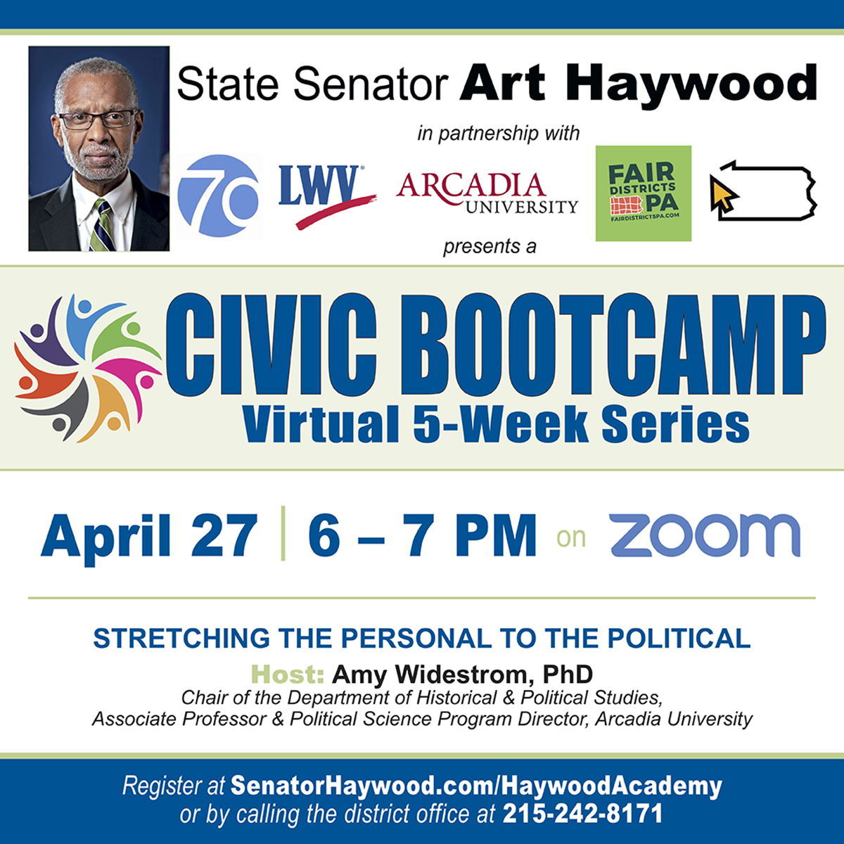 Civic Bootcamp - Stretching the Personal to the Political