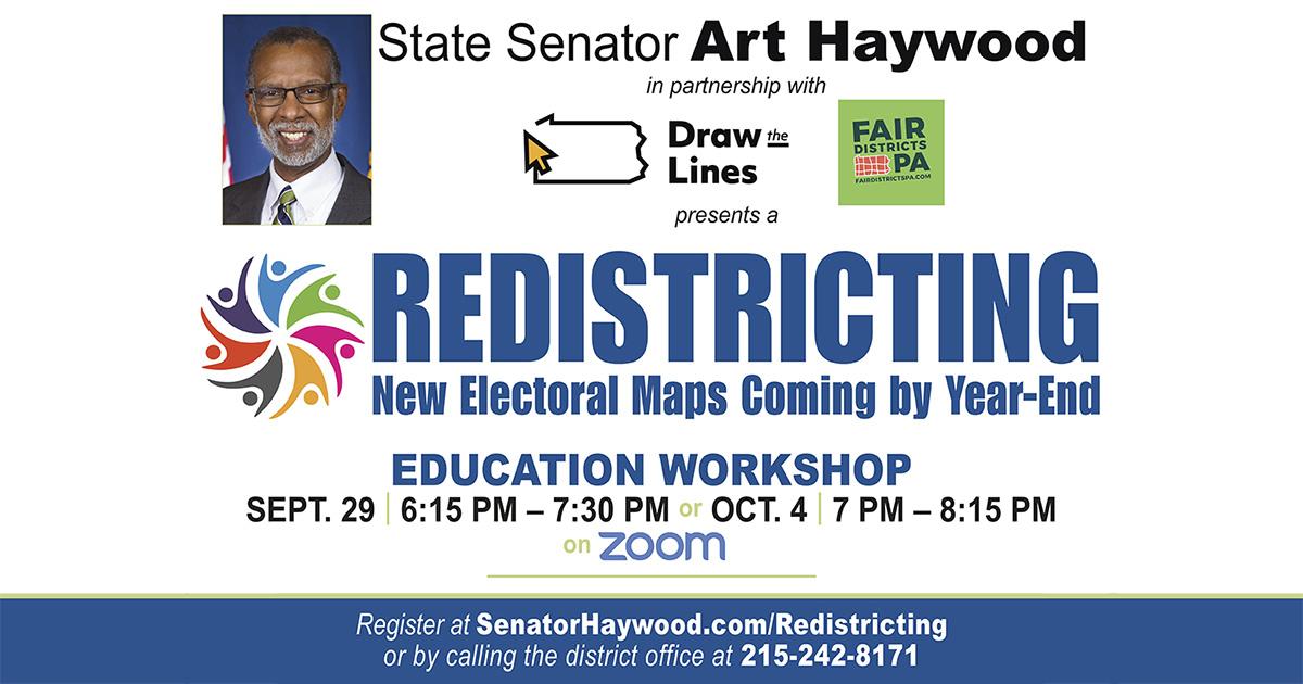 Redistricting - Education Workshop