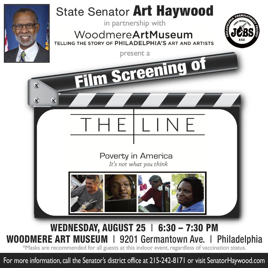 Film Screening - The Line: Poverty in America
