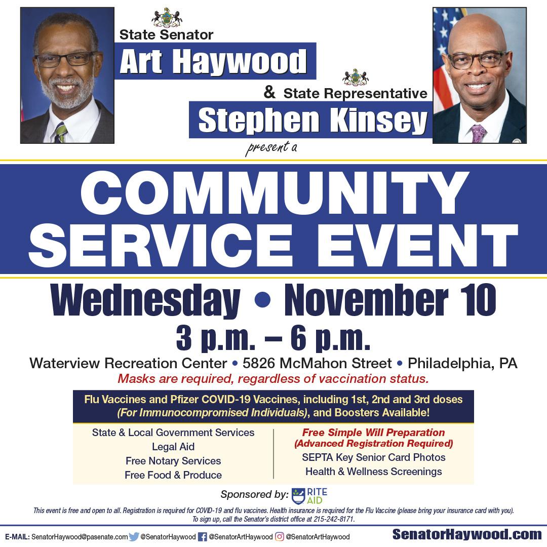 Community Service Event - November 10, 2021